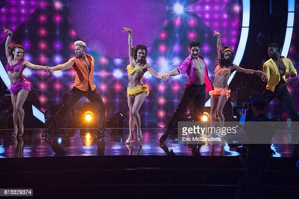 STARS Episode 2306 The nine remaining celebrities ready themselves for one of the hottest nights in the ballroom Latin Night with each celebrity...