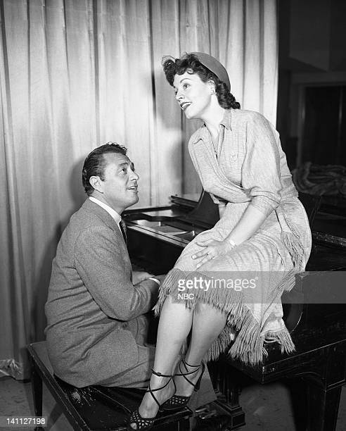 Episode 231-- Pictured: Host Tony Martin, Kay Starr -- Photo by: NBC/NBCU Photo Bank