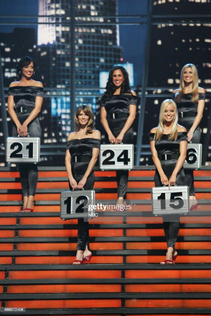 Jill Manas (12), Brooke Long (15), Tameka Jacobs (21), Meghan Markle (24), Lindsay Clubine (26) --