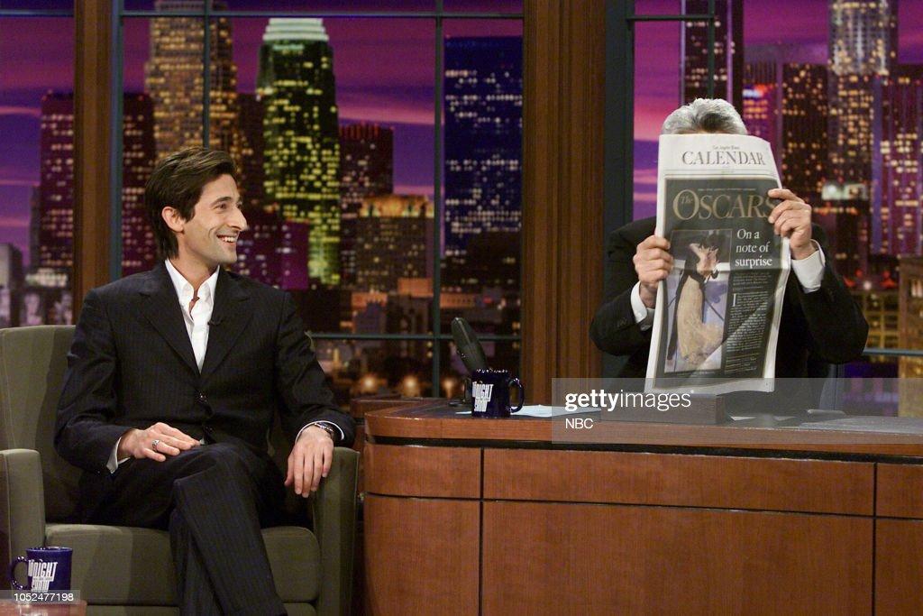 The Tonight Show with Jay Leno - Season 11 : News Photo