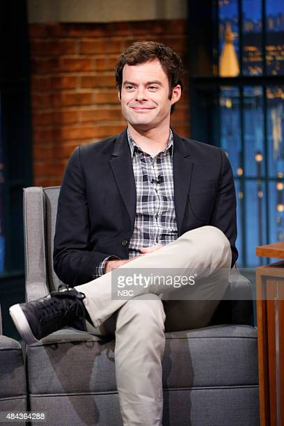 Actor Bill Hader during an interview on August 17 2015