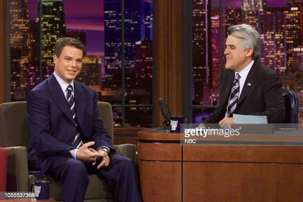 News anchor Shepard Smith during an interview with host Jay Leno on May 13 2003