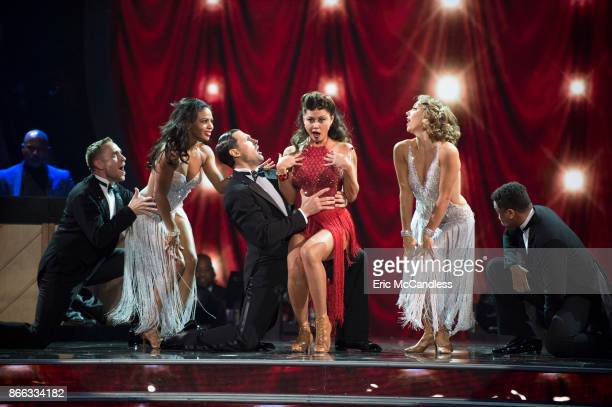STARS 'Episode 2506' The nine remaining couples set their sights on the glitz and glamor of Tinseltown as they dance to celebrate 'A Night at the...
