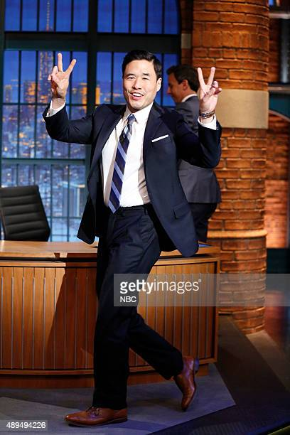 Actor Randall Park arrives on September 21 2015