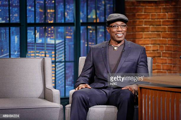 Actor Wesley Snipes during an interview on September 21 2015