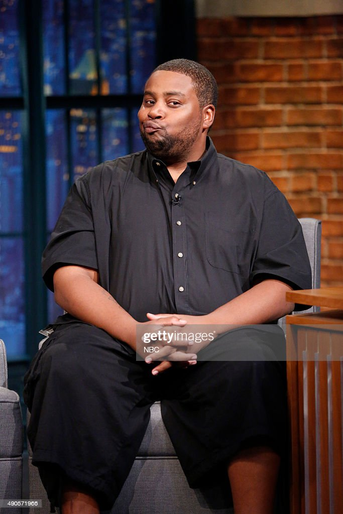 """NBC's """"Late Night with Seth Meyers"""" With Guests Kenan Thompson, Maura Tierney, Chef John Besh"""