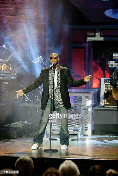Musical guest Usher performs on May 10 2004