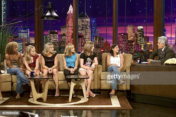 Episode 2767 -- Pictured: The 2004 U.S. Woman's gymnastic team Annia Hatch, Courtney McCool, Terin Humphrey, Courtney Kupets, Courtney McCool, Carly...