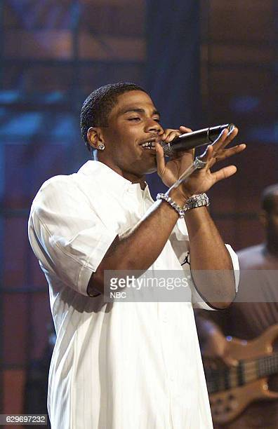 Musical guest Nelly performs on September 7 2004