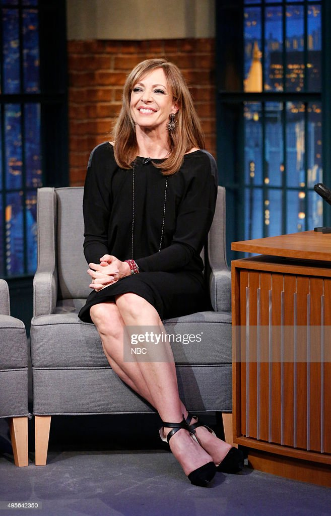 "NBC's ""Late Night with Seth Meyers"" With Guests Allison Janney, Hunter Parrish, Roger Bennett & Michael Davies"