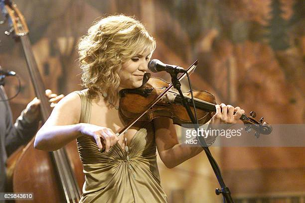 Alison Krauss of musical guest Union Station performs on November 24 2004