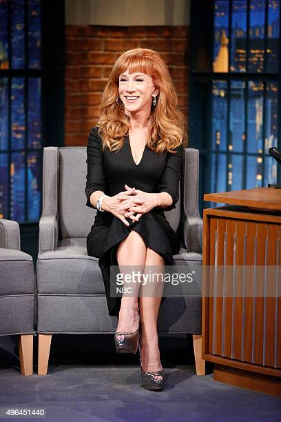 Comedian Kathy Griffin during an interview on November 9 2015