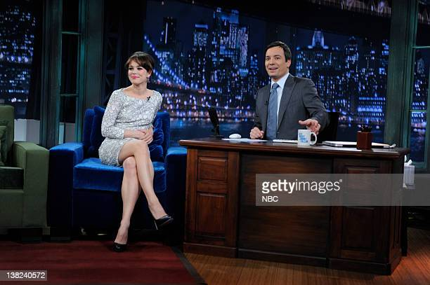 FALLON Episode 29 Airdate Pictured Actress Rachel McAdams during an interview host Jimmy Fallon on April 16 2009
