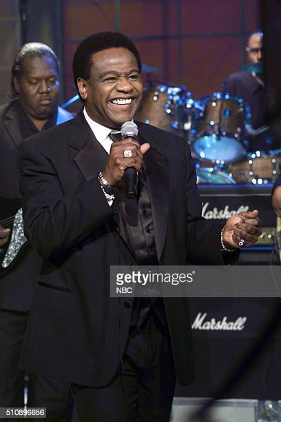 Episode 2905 -- Pictured: Singer Al Green performs on April 4, 2005 --