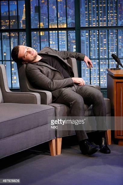 Actor Josh Hutcherson during an interview on November 19 2015