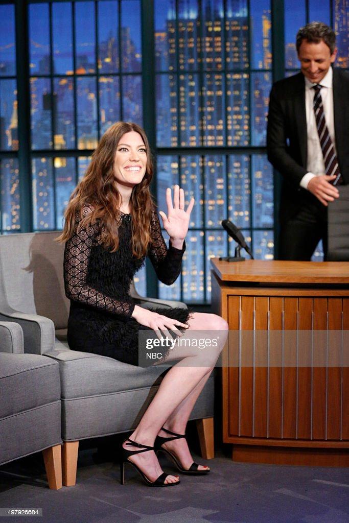 "NBC's ""Late Night with Seth Meyers"" With Guests Josh Hutcherson, Michael Rezendes, Sacha Pfeiffer"