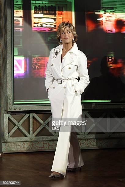 Actress Jane Fonda arrives on April 28 2005