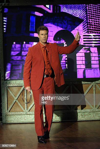 Actor Will Ferrell performs on June 6 2005