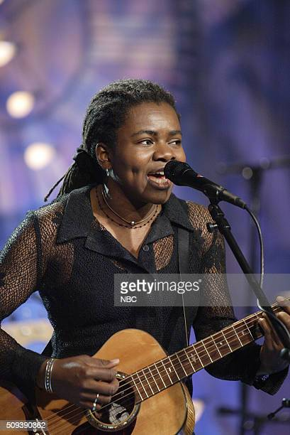 Episode 2999 -- Pictured: Singer Tracy Chapman performs on September 13, 2006 --