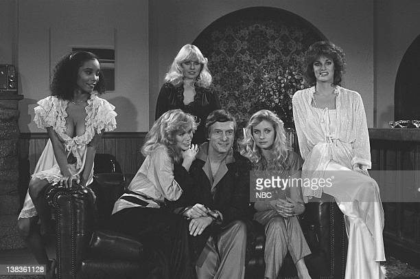 LADY Episode 3 Air Date Pictured Playboy Playmate Sondra Theodore Playboy founder Hugh Hefner Playboy Playmate Karen Morton Playboy Playmate Rosanne...