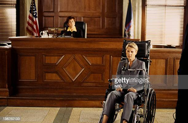 LAW ORDER DNR Episode 3 Air Date Pictured Charlotte Colavin as Judge Lisa Pongracic Lindsay Crouse as Judge Denise Grobman