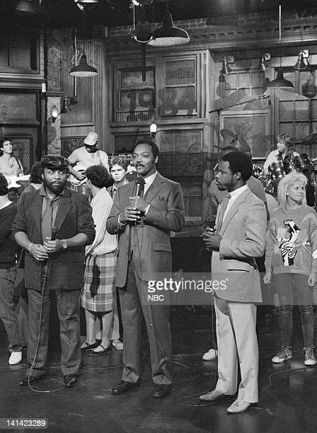 LIVE Episode 3 Aired Pictured Andrae Crouch Rev Jesse Jackson Wintley Phipps Photo by RM Lewis Jr/NBCU Photo Bank