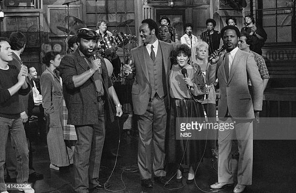 LIVE Episode 3 Aired Pictured Billy Crystal Andrae Crouch Rev Jesse Jackson unknown Wintley Phipps Photo by RM Lewis Jr/NBCU Photo Bank