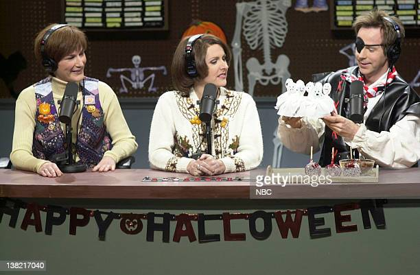 LIVE Episode 3 Aired Pictured Ana Gasteyer as Margaret Jo McCullin Molly Shannon as Terry Rialto Dana Carvey as Gorgon Hoover during The Delicious...