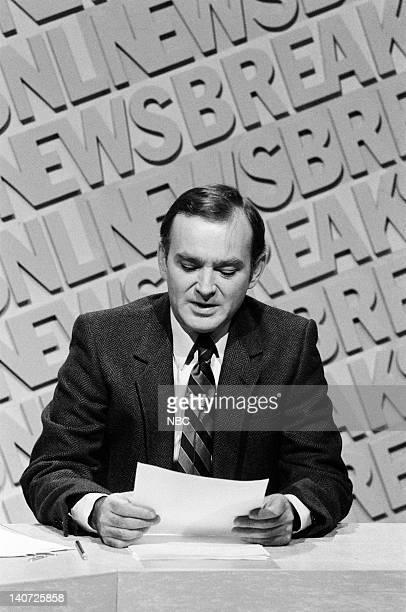 Brian DoyleMurray during the 'SNL Newsbreak' skit on October 17 1981