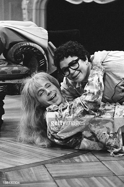 Episode 3-- Pictured: Dana Carvey as Chris, Julia Sweeney as Pat during the 'Single White Person' skit on October 10, 1992