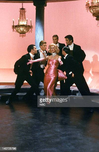 Mary Gross as Marilyn Monroe during the 'An Editorial Reply' skit on October 17 1981