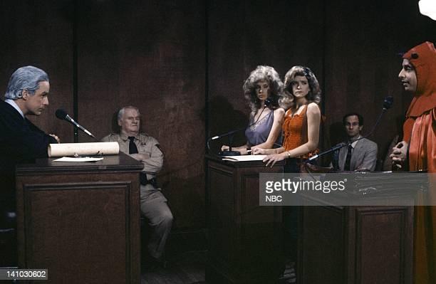 Phil Hartman as Joseph Wapner Andy Murphy as Bailiff Rosanna Arquette as Vonda Braithwaite Jan Hooks as Mrs Braithwaite Jon Lovitz as Mephistopheles...