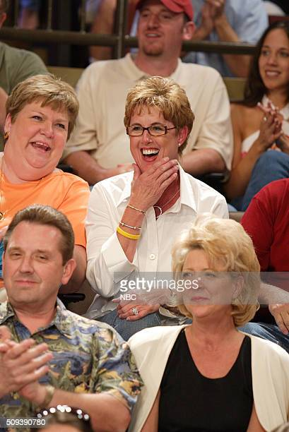 Episode 3001 -- Pictured: Audience member who received kiss from actor Adam Sandler on September 15, 2005 --