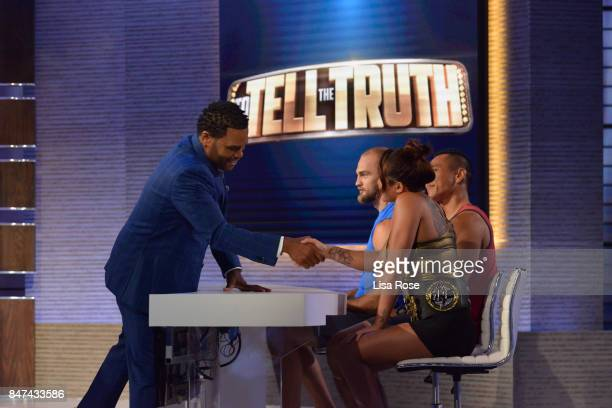 TRUTH 'Episode 301' Iliza Shlesinger Taye Diggs Jana Kramer and Ken Marino make up the celebrity panel on 'To Tell the Truth' MONDAY SEPTEMBER 11 on...