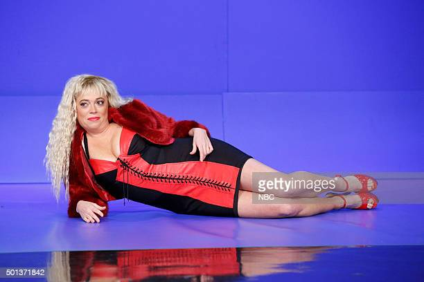 Writer Michelle Wolf as Whore on the Floor during a segment on December 14 2015