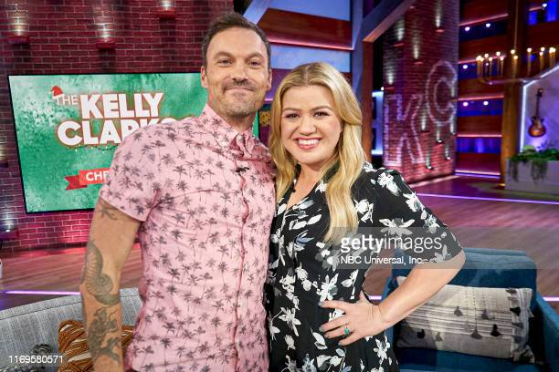 Episode 3016 -- Pictured: Brian Austin Green, Kelly Clarkson --