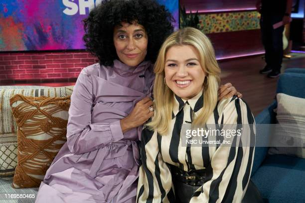 Episode 3019 -- Pictured: Tracee Ellis Ross, Kelly Clarkson --