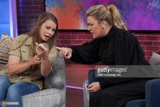 Episode 3023 -- Pictured: Bindi Irwin, Kelly Clarkson --
