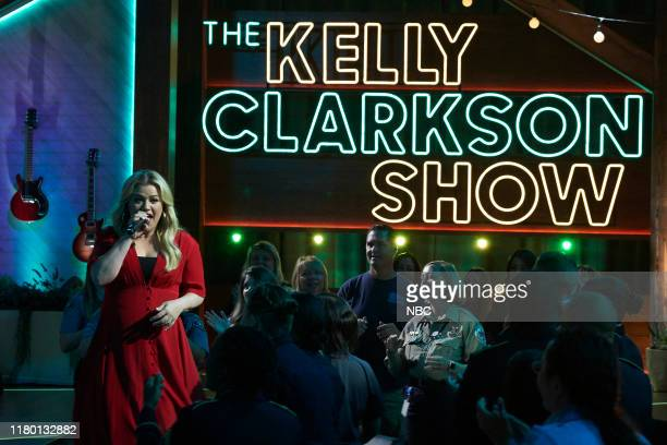 Episode 3025 -- Pictured: Kelly Clarkson --