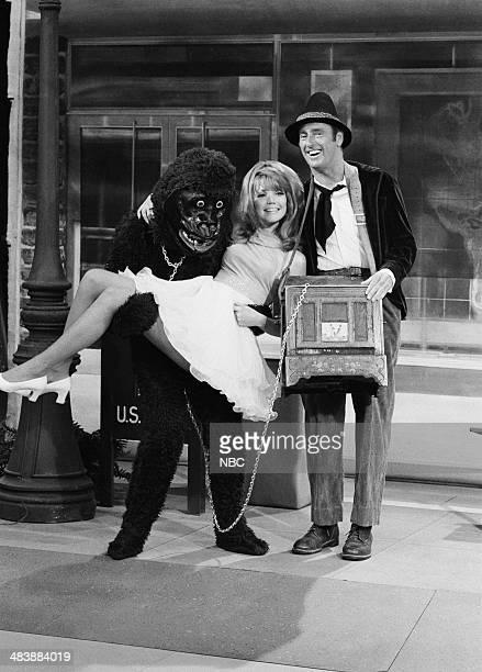 Unknown as gorilla Pamela Rodgers Dick Martin