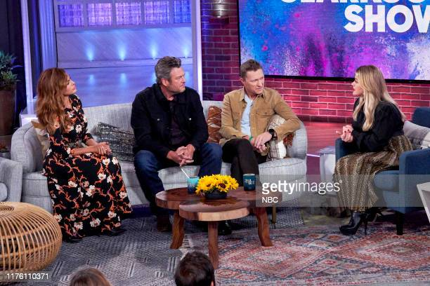 Episode 3037 -- Pictured: Eva Mendes, Blake Shelton, Craig Morgan, Kelly Clarkson --