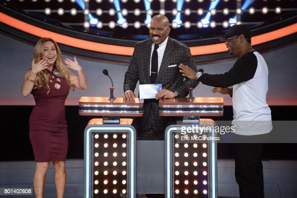 FEUD 'Episode 304' 'Neil deGrasse Tyson vs Rick Fox and Boy Band vs Girl Group' The celebrity teams competing to win cash for their charities...