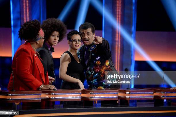 FEUD Episode 304 Neil deGrasse Tyson vs Rick Fox and Boy Band vs Girl Group The celebrity teams competing to win cash for their charities features...