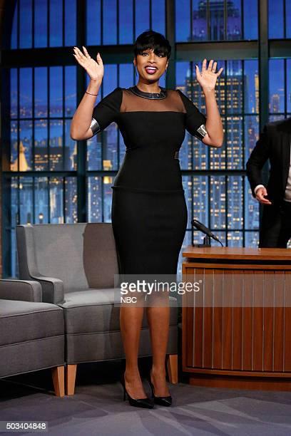 Actress Jennifer Hudson arrives on January 4 2016