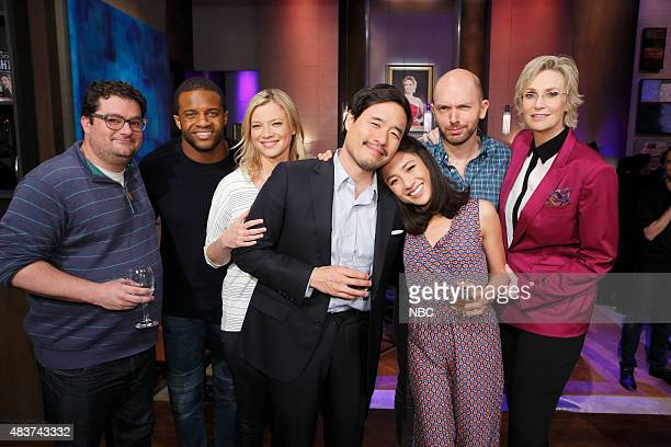 NIGHT '305' Episode 305 Pictured Bobby Moynihan Randall Cobb Amy Smart Randall Park Constance Wu Paul Scheer Jane Lynch