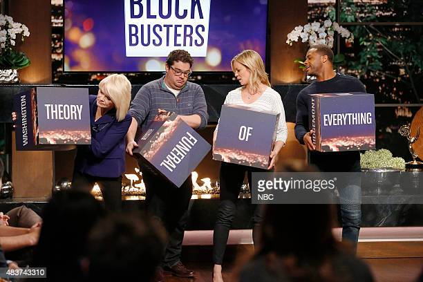 NIGHT '305' Episode 305 Pictured Contestant Bobby Moynihan Amy Smart Randall Cobb