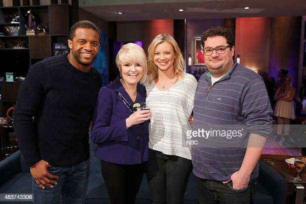 NIGHT '305' Episode 305 Pictured Randall Cobb Contestant Amy Smart Bobby Moynihan