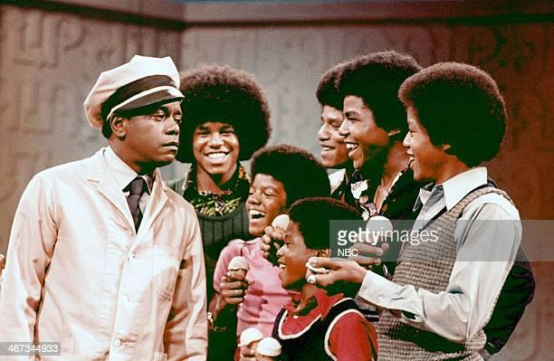 Host Flip Wilson The Jackson 5's Jackie Jackson Michael Jackson Jermaine Jackson Tito Jackson Randy Jackson Marlon Jackson