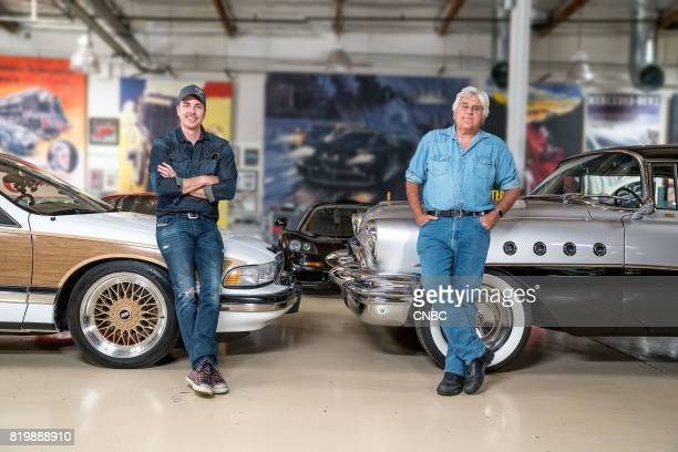 jay leno garage stock photos and pictures getty images. Black Bedroom Furniture Sets. Home Design Ideas