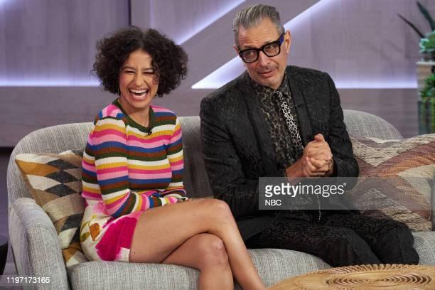 Episode 3087 -- Pictured: Ilana Glazer, Jeff Goldblum --